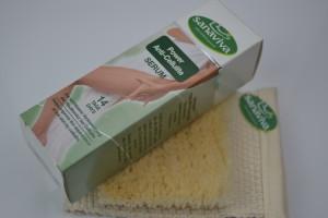 pflegeset-cellulite creme+bürste von sanaviva